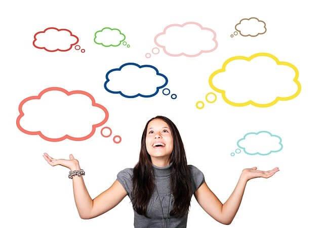 Nubes pensamiento